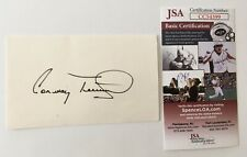 Conway Twitty Signed Autographed 3x5 Card JSA Certified