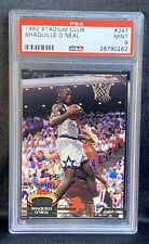 New listing 1992 - 1993 Topps Stadium Club Shaquille O'Neal  ROOKIE #247 Basketball Card