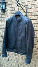 "Belstaff Gransden Waxed Cotton Denim Jacket IT54 XXL UK44"""