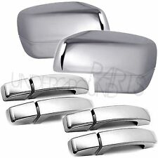 CHROME DOOR HANDLES AND FULL MIRROR COVERS KIT RANGE ROVER SPORT 05-09