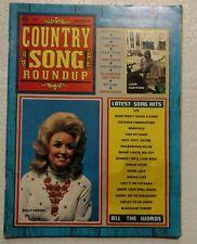 Dolly Parton Country Song Roundup Magazine November 1971