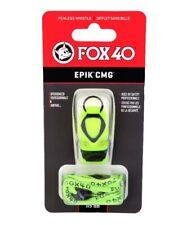 Fox40 Epik CMG Whistle Outdoors Safety Sports Hiking Goods Volt 8803-1308
