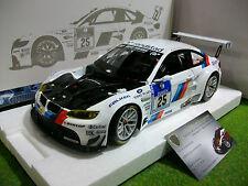 BMW M3 GT2 #25 WINNER 24H NURBURGRING 2010 blanc au 1/18 de MINICHAMPS 100102025
