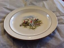 "4 X 10.5"" WHITE ICE IRONSTONE J & G MEAKIN MADE IN ENGLAND PLATE"