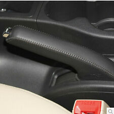 Handbrake leather protective cover black leather for Nissan Qashqai