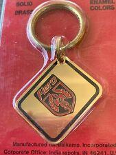 Vintage Napa Balkamp Pontiac Fiero Keychain Solid Brass Key Chain