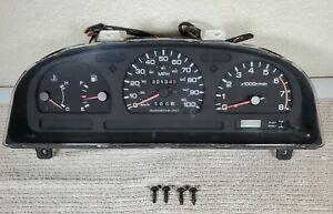 1994-1995 Nissan Pathfinder V6 4X4 Instrument Cluster Speedo OEM 201k Miles