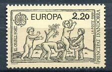 TIMBRE ANDORRE FRANCE NEUF N° 378  ** EUROPA JEUX D ENFANTS LE CHEVAL FORT