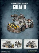 GENESTEALER Cults Goliath Workshop Warhammer 40000 TANK PANZER tyraniden 51-53