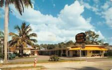 FORT MYERS, FL Florida  ROYAL PALM COURT MOTEL  Roadside  1957 Chrome Postcard