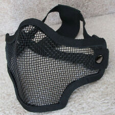 Metal Mesh Half Face Cover Protection For Extra Strong Airsoft/Paintball Game