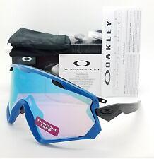 NEW Oakley Wind Jacket 2.0 sunglasses Blue Prizm Snow Sapphire Iridium 7072-07