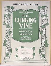 """""""ONCE UPON A TIME"""" from """"THE CLINGING VINE"""" (1922 BROADWAY MUSICAL)"""