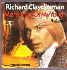 """7"""" Richard Clayderman Memories Of My Youth / First Sorrow 70`s Telefunken"""