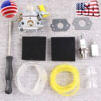 Carburetor Air Filter Fo Homelite 26cc 30cc Ryobi Poulan Trimmers 308054013 Carb