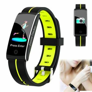 Fitness Tracker Watch Heart Rate Fitness Bracelet Music Control for iPhone ASUS