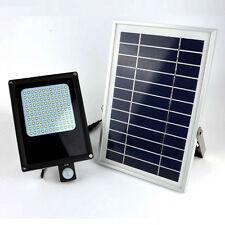 120 LED Security Motion Sensor Solar Powered Floodlight Light Outdoor Garden New