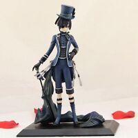 "Kuroshitsuji Black Butler Ciel PVC figure 8"" loose"