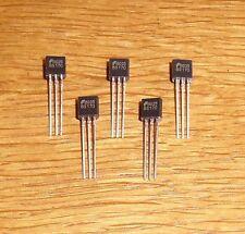 5 Transistoren BS 170   ( MOSFET - Transistor , N - Channel )
