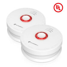 SITERWELL2 Pack Smoke Detector and Battery Operated Smoke and Fire Alarm 10 Year