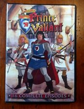 The Legend of Prince Valliant 2 DISC 16 EPISODES CARTOON DVD SET