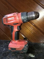 Hilti SF 6H-A22 22-Volt Lithium-Ion 1/2 in. Hammer Drill Driver Used & + Battery