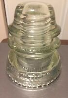 Hemingray Insulator No 42 Clear Glass Insulator