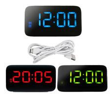 JK-015 Led Sveglia Digitale Controllo Vocale Time Display USB Power per Beedroom