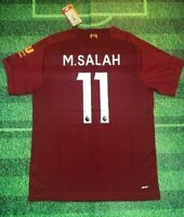 Mohamed Salah 19/20 Liverpool Home Jersey (Same Day Shipping)