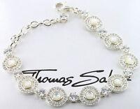 Thomas Sabo Ornament Armband A1184-030-14, 925/-Sterling Silber,UVP € 469,00 NEU