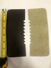 Genuine Dark Brown Leather Repair Back (7 inches by 2 3/4 in wide)  pack of 6