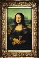 In Heaven There Is No Beer Mona Lisa Funny Poster 12x18 inch