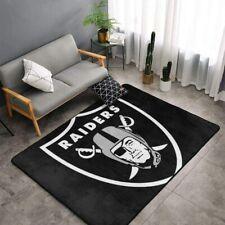 Las Vegas Raiders Rugs Anti-Skid Area Rug Living Room Bedroom Floor Mat Carpet