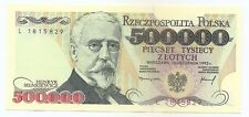Poland 500 000 zloty 16.11.1993 P-161 UNC