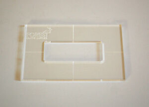P-90 pickup routing template template milling,