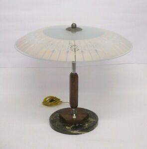 ART.819 - ELEGANTE LAMPADA DA TAVOLO ART DECO' DELL'EPOCA PRIMI 900