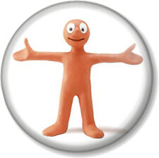 Morph (1) 25mm Pin Button Badge Animation Take Hart Hartbeat Tony TV Character