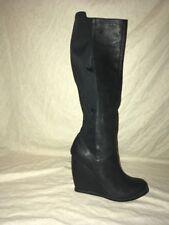 Brunomagli Severa Seychelles Black Leather, Women's Shoes, Size 7.5M