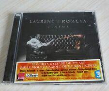 CD ALBUM CINEMA LAURENT KORCIA AU VIOLON DU 7 EME ART 20 TITRES 2009 NEUF