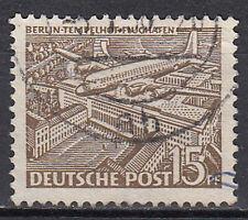 Berlin 48 Rundstempel gestempelt Briefmarke Jahrgang 1949
