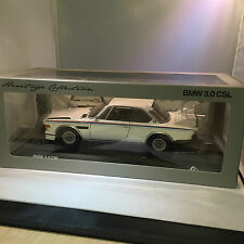 BMW GENUINE 3.0 CSL MINIATURE HERITAGE COLLECTION  1:18 SCALE