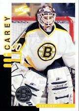 1997-98 Score Boston Bruins #2 Jim Carey