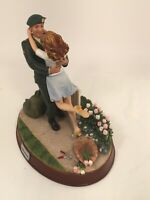 """Military Collectables Unforgettable Moments """"Homecoming"""" GI Joe Hasbro Figurine"""