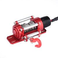 Metall Seilwinde für 1:10 RC Kletter Crawler Auto SCX10 D90 D110 TF2 TRX4 KM2