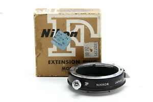 Near Mint Nikon E2 Extension Ring (Non Ai) with Box #33967