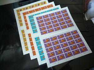 Hong Kong 1996 Year of Rat Stamp Set Full Sheet/50 Sets VF MNH FOLD FOR DELIV