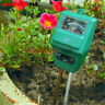 3 in 1 PH Tester Soil Water Moisture Light Test Meter sensor Garden Plant Flower