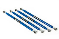 American Star 4130 Chromoly Radius Bars For 2015 Polaris RZR XP 1000 - Blue