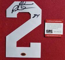 Alvin Robertson San Antonio Spurs SIGNED Autograph JERSEY NUMBER #2 CAS W/CoA