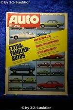 Auto Zeitung 3/77 DB 200 Scirocco Tuning Alfasud Sprint+ Betti Poster(Escord RS)